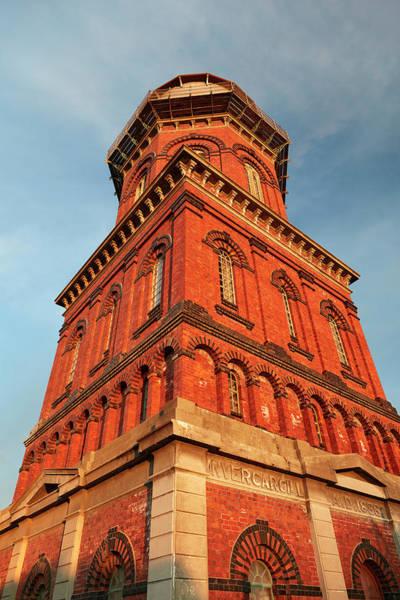 Wall Art - Photograph - Historic Water Tower, Invercargill by David Wall