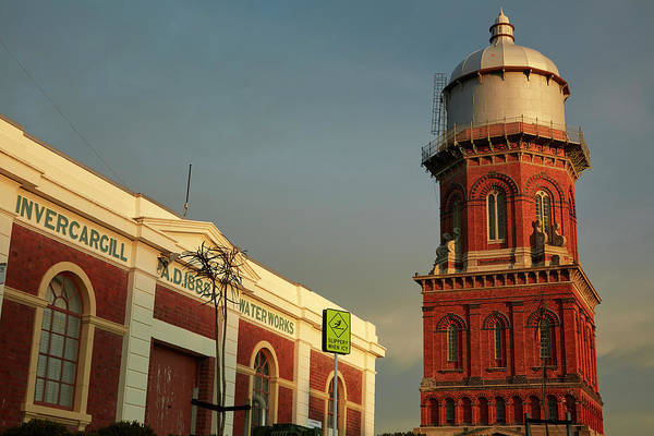 Wall Art - Photograph - Historic Waterworks And Water Tower by David Wall