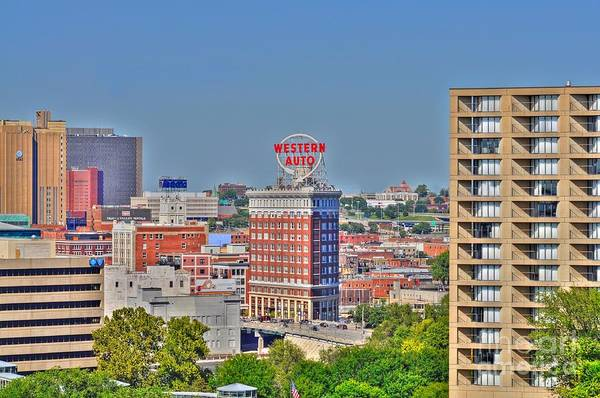 Liane Photograph - Historic Western Auto Building Kansas City  Missouri by Liane Wright