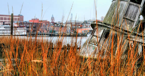 Earthtones Photograph - Historic Wilmington by JC Findley
