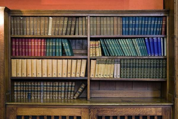 Book Shelf Photograph - Historical Books And Journals by Paul Rapson/science Photo Library