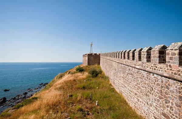 Turkiye Wall Art - Photograph - Historical Castle At Babakale Turkey by Leyla Ismet