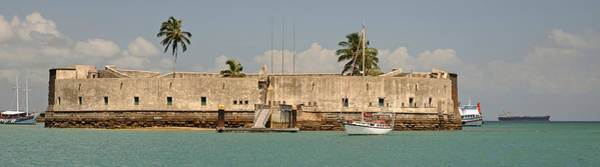 Salvador Photograph - Historical Fortification In Baia De by Panoramic Images