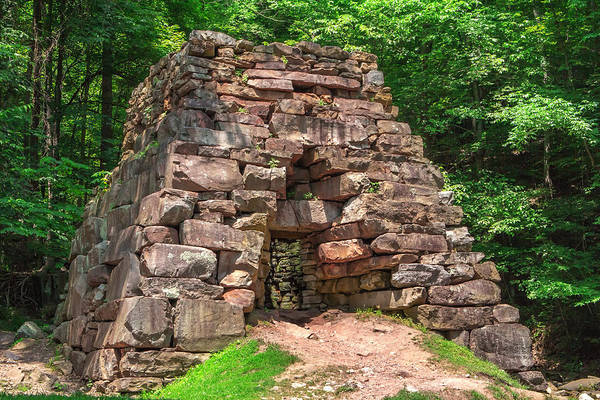 Photograph - Historical Furnace by Mary Almond