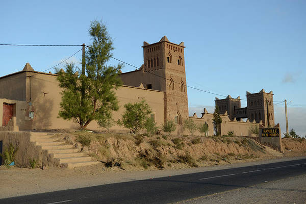 Casbah Photograph - Historical Kasbah Famille Ben Moro by Paolo Negri