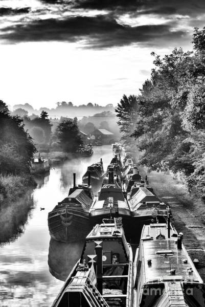 Wall Art - Photograph - Historical Narrowboats by Tim Gainey