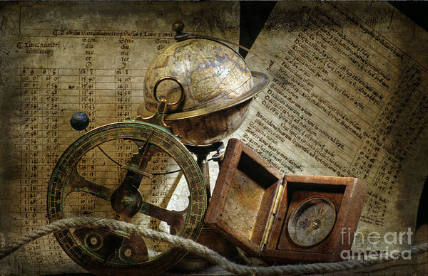 Rigging Photograph - Historical Navigation by Bernard Jaubert