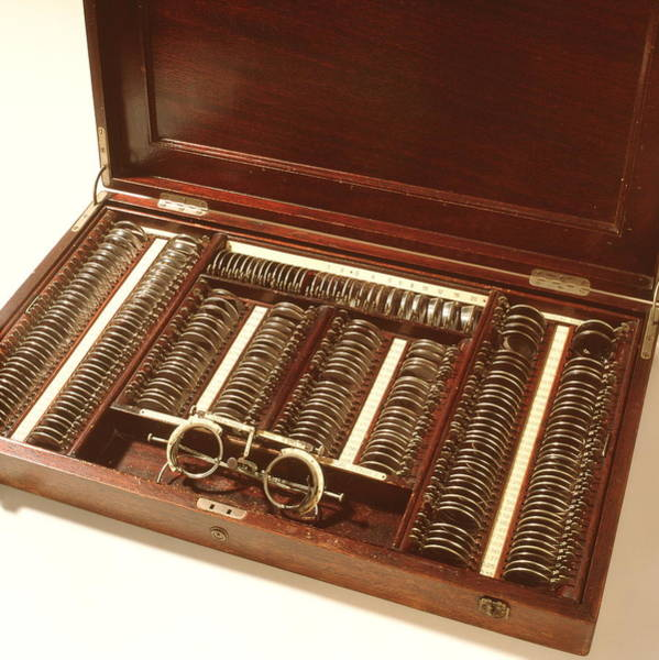 Wall Art - Photograph - Historical Optometry Kit by Cc Studio/science Photo Library