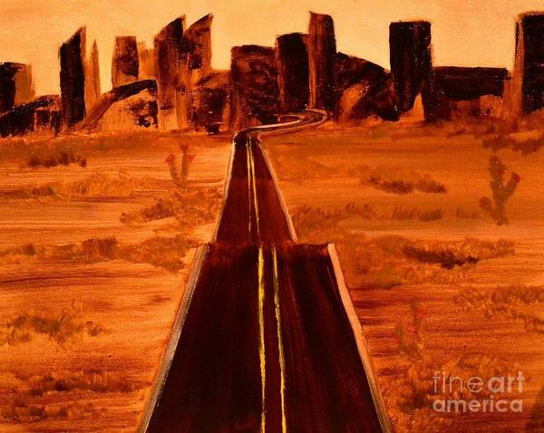 Painting - Hit The Road Jack by Denise Tomasura