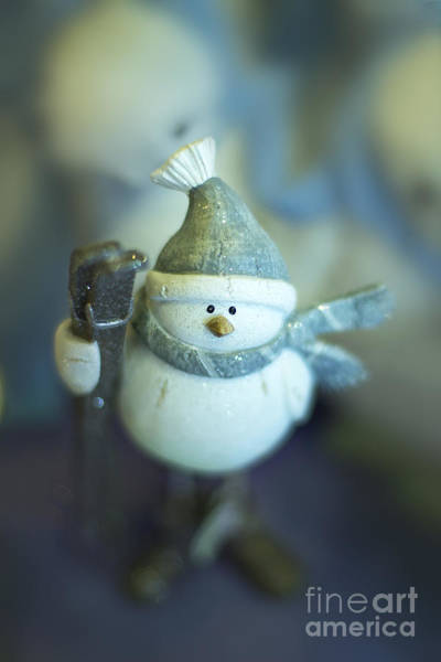 Winter Holiday Photograph - Hit The Slopes by Evelina Kremsdorf