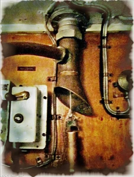 Photograph - Hmcs Haida  Destroyer's Communication Room  by Danielle  Parent