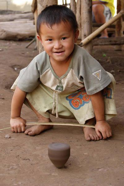 Photograph - Hmong Boy by Adam Romanowicz