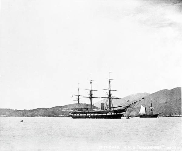 Wall Art - Photograph - Hms Challenger At St Thomas by Natural History Museum, London/science Photo Library