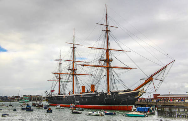 Photograph - Hms Warrior At Rest by Ross Henton