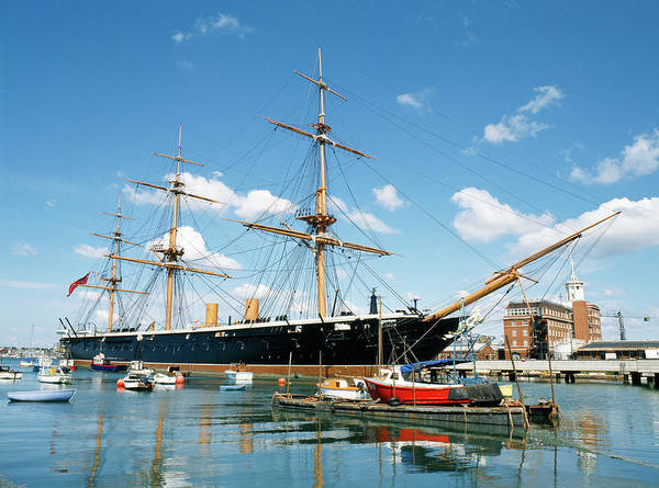 Steam Boat Photograph - Hms Warrior by Tony Craddock/science Photo Library