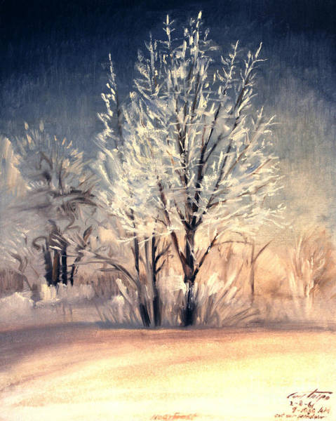 Painting - Hoarfrost by Art By Tolpo Collection
