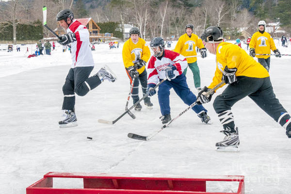 Vt Wall Art - Photograph - Hockey In Vermont by Jim Block