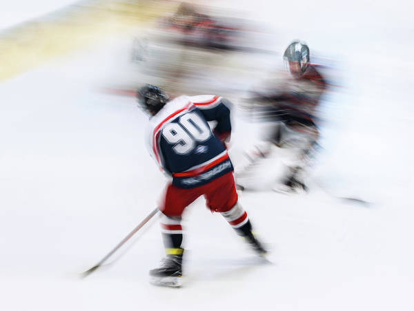 Speed Wall Art - Photograph - Hockey U18_2 by Dusan Ignac
