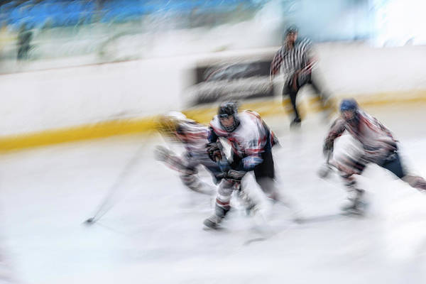 Speed Wall Art - Photograph - Hockey U18_3 by Dusan Ignac