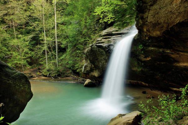 Hocking Hills Photograph - Hocking Hills Lower Falls by Westhoff
