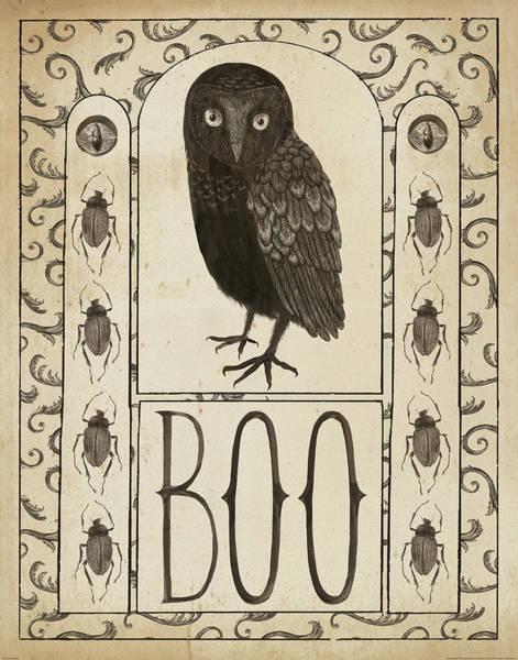 Boo Wall Art - Painting - Hocus Pocus IIi by Sara Zieve Miller