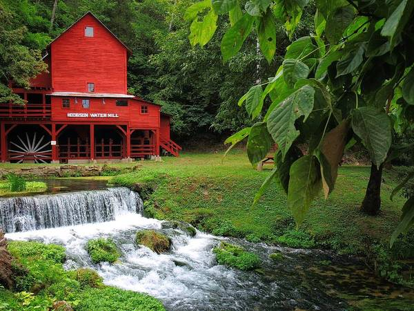 Photograph - Hodgson Water Mill by Skip Hunt