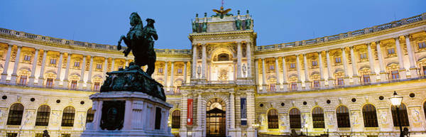 Colonnade Photograph - Hofburg Palace, Vienna, Austria by Panoramic Images