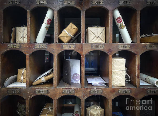 Wall Art - Photograph - Hogsmeade Owl Post Office by Edward Fielding