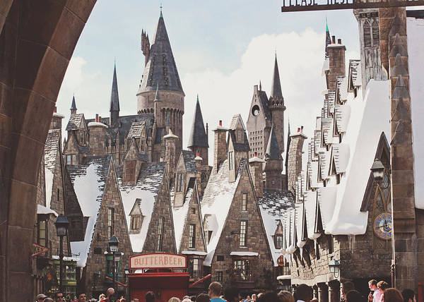 Potter Wall Art - Photograph - Hogsmeade by Jessie Gould