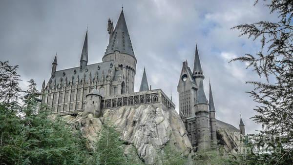 Hogwarts Wall Art - Photograph - Hogswarts Castle  by Edward Fielding