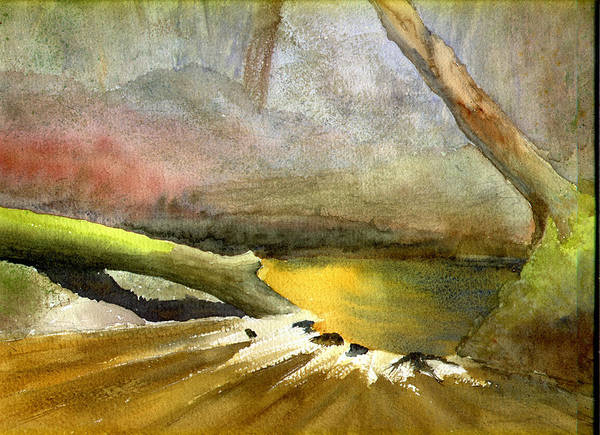 Painting - Hogtown Creek by Peter Senesac