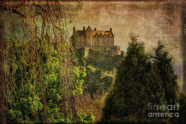 Photograph - Edinburgh Castle Edinburgh Scotland by Lois Bryan