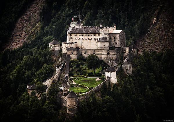 Photograph - Hohenwerfen Castle by Ryan Wyckoff