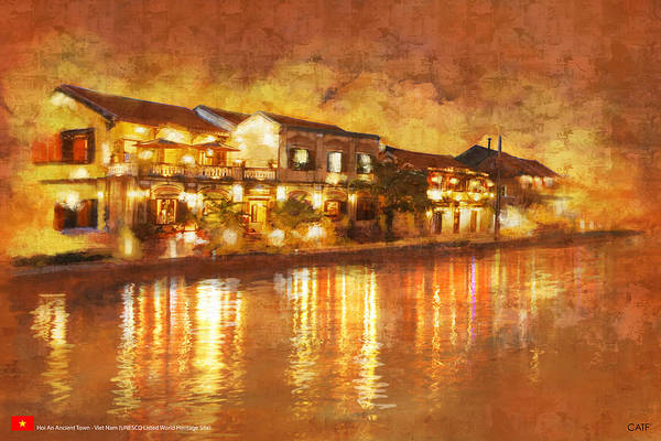 Vietnamese Painting - Hoi An Ancient Town by Ctaf