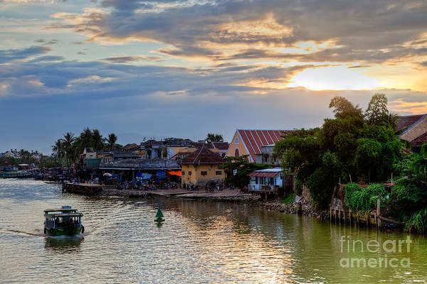 Hoi An Photograph - Hoi An City At Twilight Vietnam by Fototrav Print