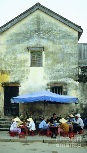 Hoi An Photograph - Hoi An Noodle Stall 01 by Rick Piper Photography