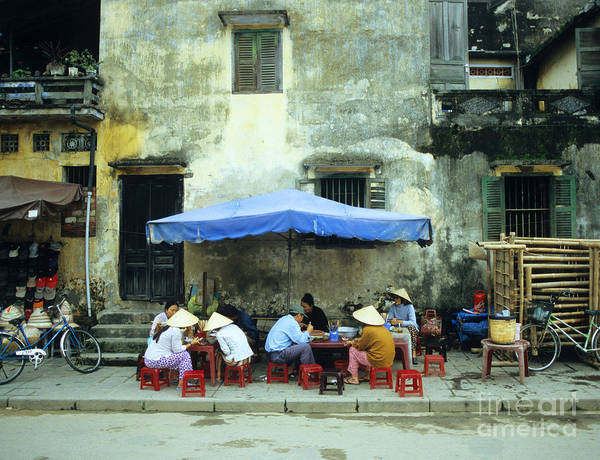 Rick Piper Photograph - Hoi An Noodle Stall 02 by Rick Piper Photography