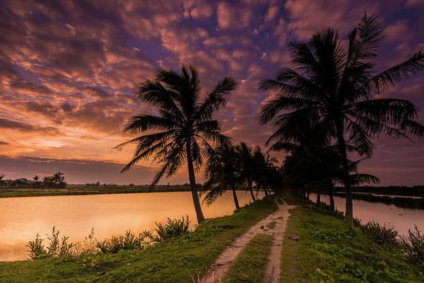 Hoi An Photograph - Hoi-an Vietnam Sunset by Keith Mcinnes Photography