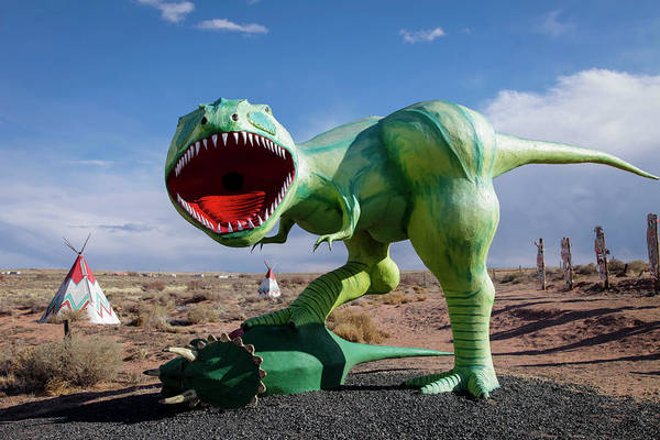 Roadside Attraction Wall Art - Photograph - Holbrook, Arizona, United States by Julien Mcroberts