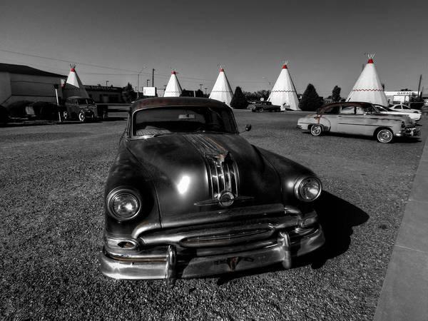 Photograph - Holbrook Az - Wigwam Motel 005 by Lance Vaughn