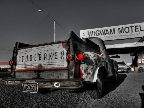 Photograph - Holbrook Az - Wigwam Motel 006 by Lance Vaughn