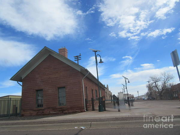 Wall Art - Photograph - Holbrook Train Depot by Frederick Holiday