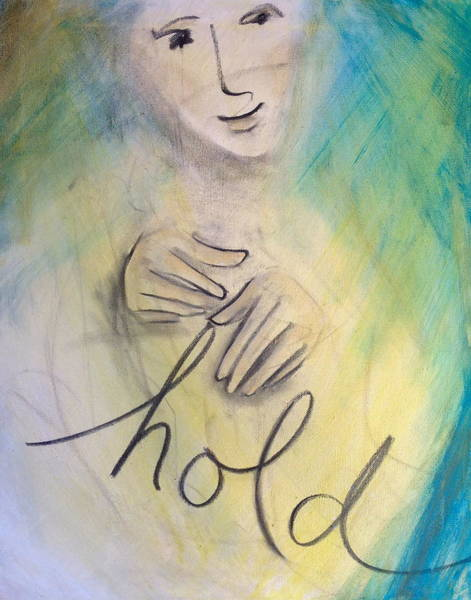 Painting - Hold by Anna Elkins