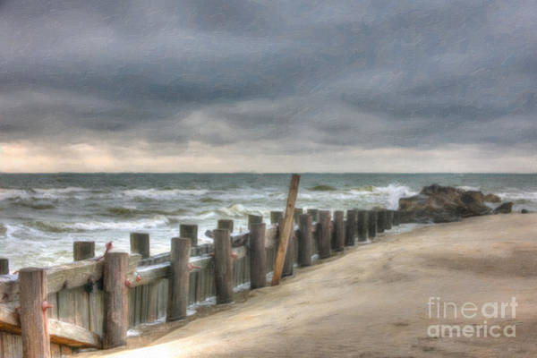 Digital Art - Hold Back The Waves by Dale Powell