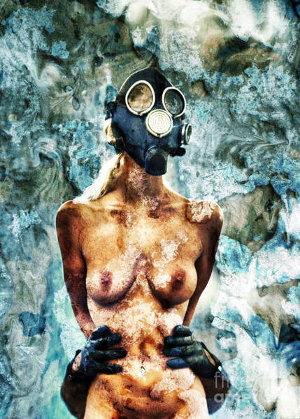 Radioactive Photograph - Hold Me If I M Dying 1 by Stelios Kleanthous