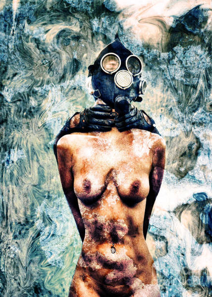 Radioactive Photograph - Hold Me If I M Dying 4 by Stelios Kleanthous