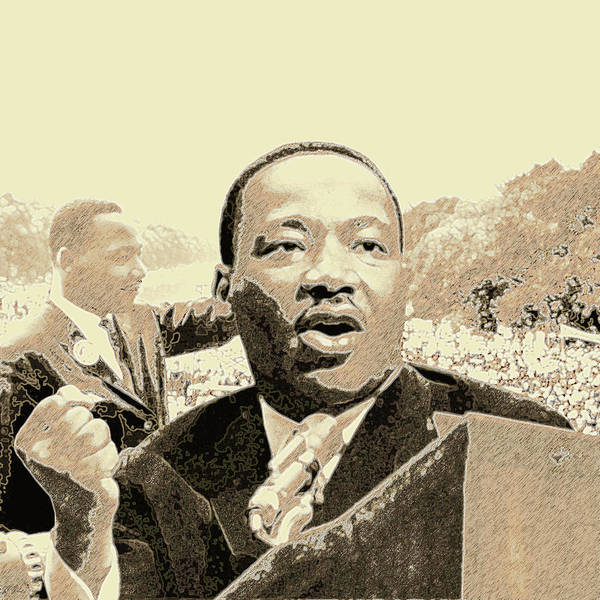 Mlk Digital Art - Hold Strong To The Dream by Randell Gates