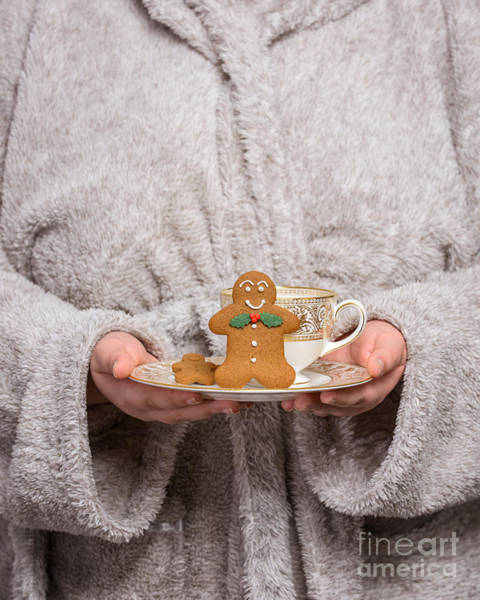 Offering Photograph - Holding Gingerbread by Amanda Elwell