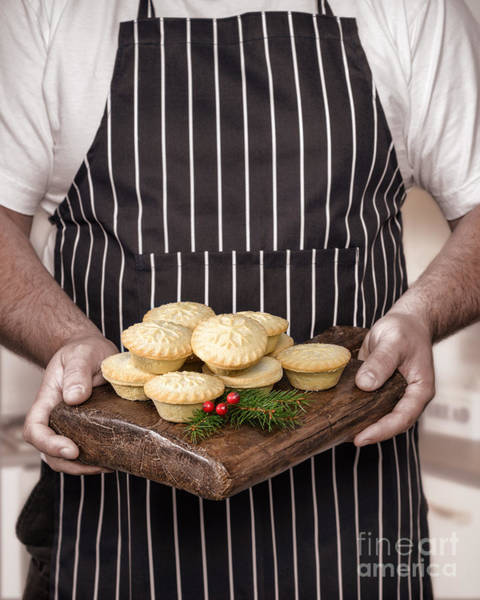 Wall Art - Photograph - Holding Mince Pies by Amanda Elwell