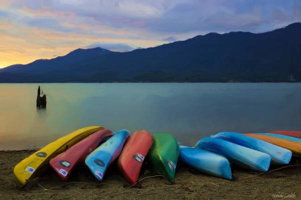 Kayak Photograph - Holding On To Summer by Heidi Smith